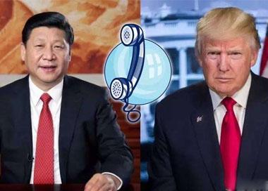 习近平与特朗普讨论朝鲜局势