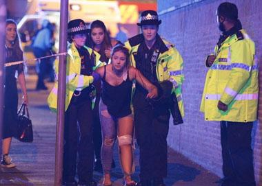 英国曼彻斯特体育场发生两起爆炸