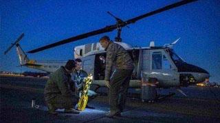 美国军机零件掉幼儿园