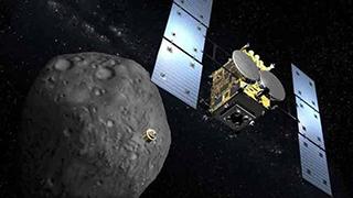日本探测车成功登陆小行星