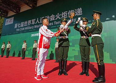 第七届世界军人运动会10月18日开幕