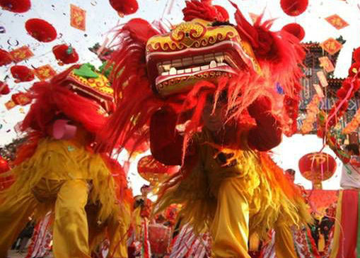 中国各地特色民俗活动喜乐庆新春