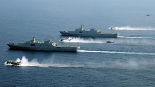 中国最高调实弹军演