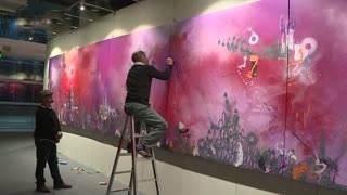 西湖艺术博览会开幕