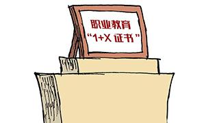 1+X证书制度落户杭志愿