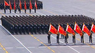 哥伦比亚举行阅兵式