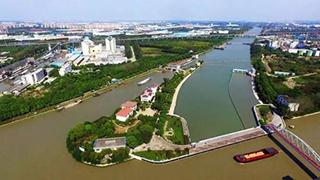 京杭运河水位低至1.17米