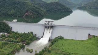 台风受灾区高水位回落