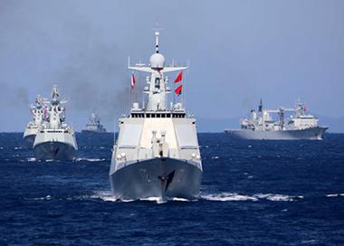 """中俄""""海上联合-2021""""联合军事演习"""